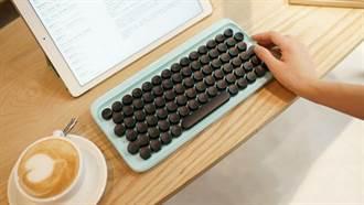 懷念打字機的答答聲嗎?「仿打字機鍵盤」真的要來搶攻荷包了啦