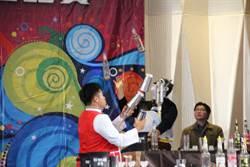 年輕學子調酒大賽  有如特技表演