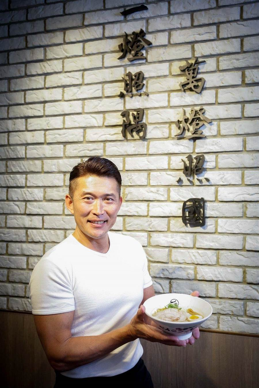 日本拉麵名店「一燈」系列創辦人兼社長坂本幸彥。(業者提供)