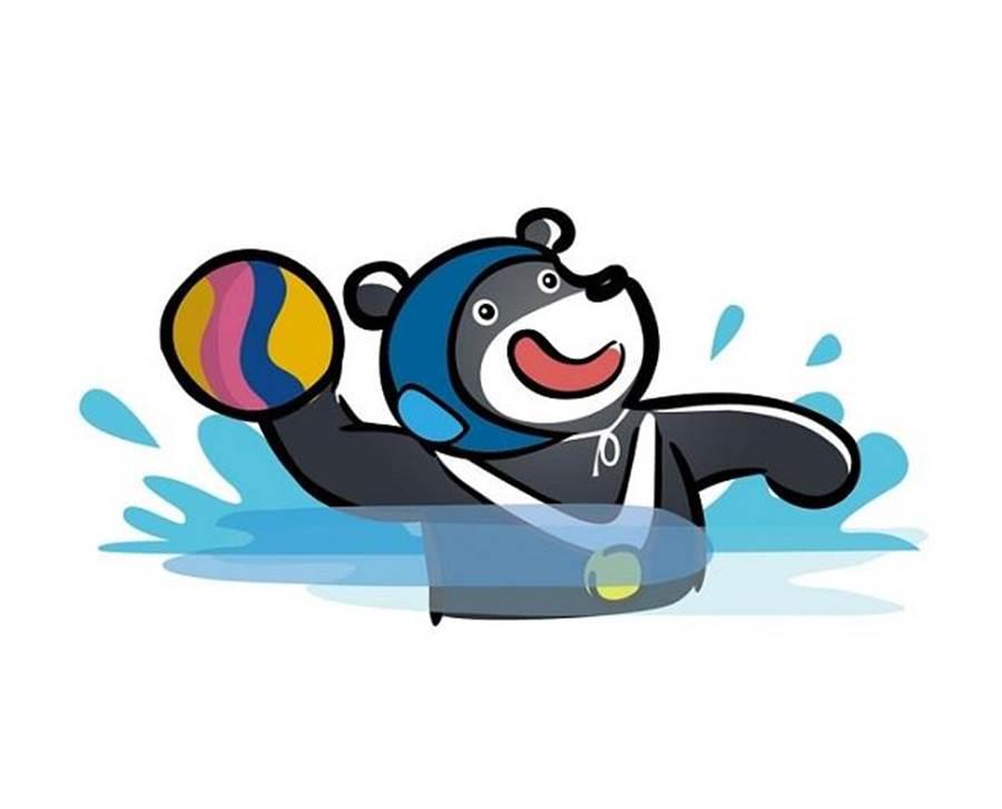 吉祥物22動作─水球。