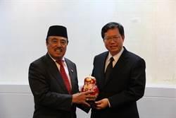 印尼副總統特助及駐台代表拜會桃園