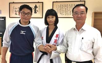 南投子弟兵張珮筠 獲選2017亞洲青少年跆拳道國手