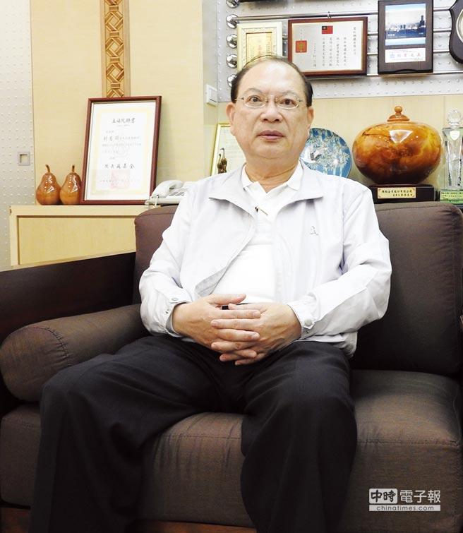 有益鋼鐵董事長劉憲同樂觀看待公司前景。圖/黃全興