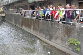 彰化市半世紀三民橋改善 新設溢洪道