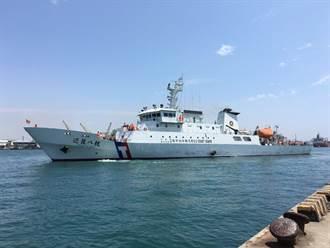 護漁不中斷 巡護八號航往中西太平洋