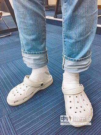 洞洞鞋一穿好幾天 灰指甲上身