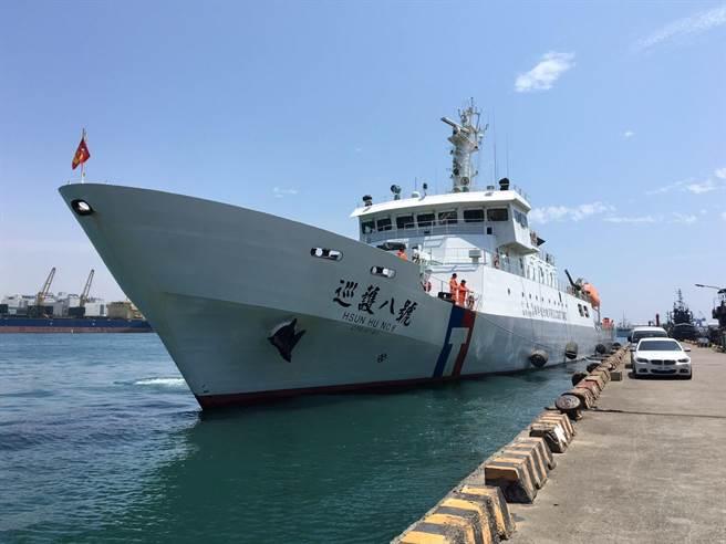 巡護八號31日執行今年度第2航次遠洋巡護任務。(直屬船隊提供)