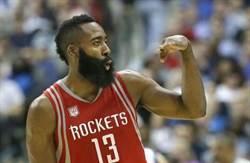 NBA》不讓韋少專美於前 哈登大四喜互別苗頭