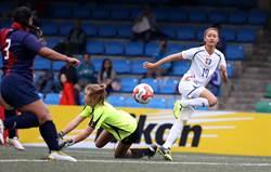 1球之差 中華女足只贏巴勒斯坦5球…