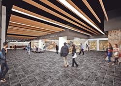 南港轉運站西站 4月中啟用