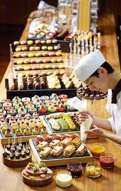 台北美福慶周年 彩匯自助餐四送一 下午茶同步開賣
