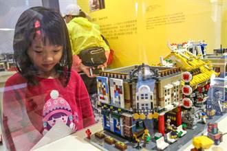 連假遛小孩好去處 竹市美術館玩具公仔超夯