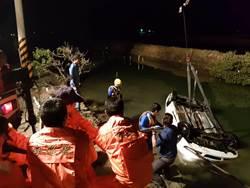 七股釣客駕車不慎落水 送醫後不治身亡