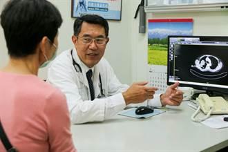 肺腺癌手術  單孔胸腔鏡恢復快