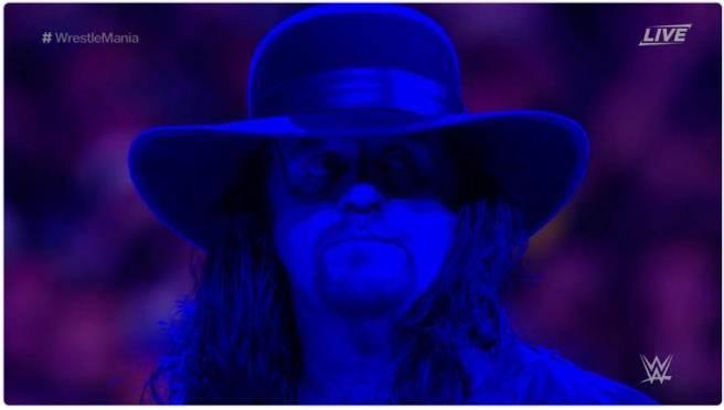 送葬者生涯在大賽第2度落敗,正式謝幕。(摘自WWE推特)