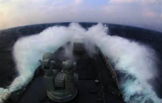 施壓日軍 大陸海軍刻意穿越宮古海峽