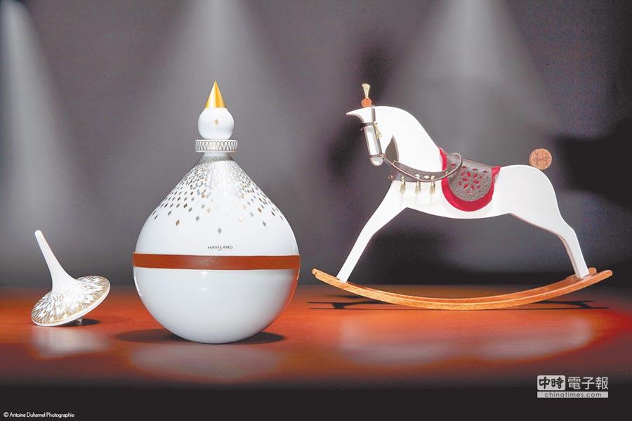 法國瓷都Limoges品牌哈維蘭Haviland首次推出精緻、可愛又吸睛的童趣擺件「Swing」系列,價格店洽。