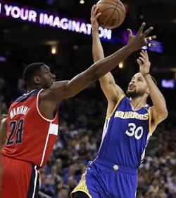 NBA》西區八強出爐 勇士首輪打拓荒 馬刺戰灰熊
