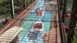 比透明吊橋更刺激!台灣打造首座3D彩繪吊橋,逼真奇幻感讓人拍不停