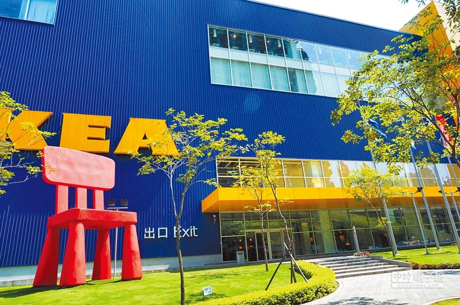 國泰人壽標下台中市「市81」公有市場用地,再與IKEA簽訂租賃契約,打造複合式商場。(本報資料照片)