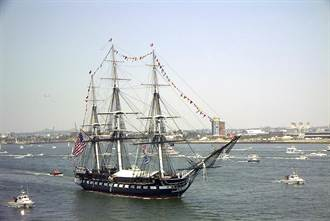 美國古董艦憲法號 修復完畢將重返水域