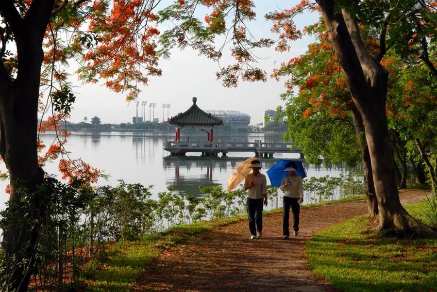 高雄市民享有免費進入澄清湖。(柯宗緯翻攝)