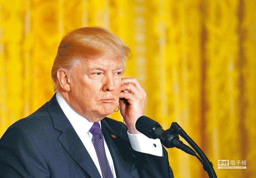 美國傳統外交圈的前官員或智庫學者都認為,川普「很難預測」。 (新華社)