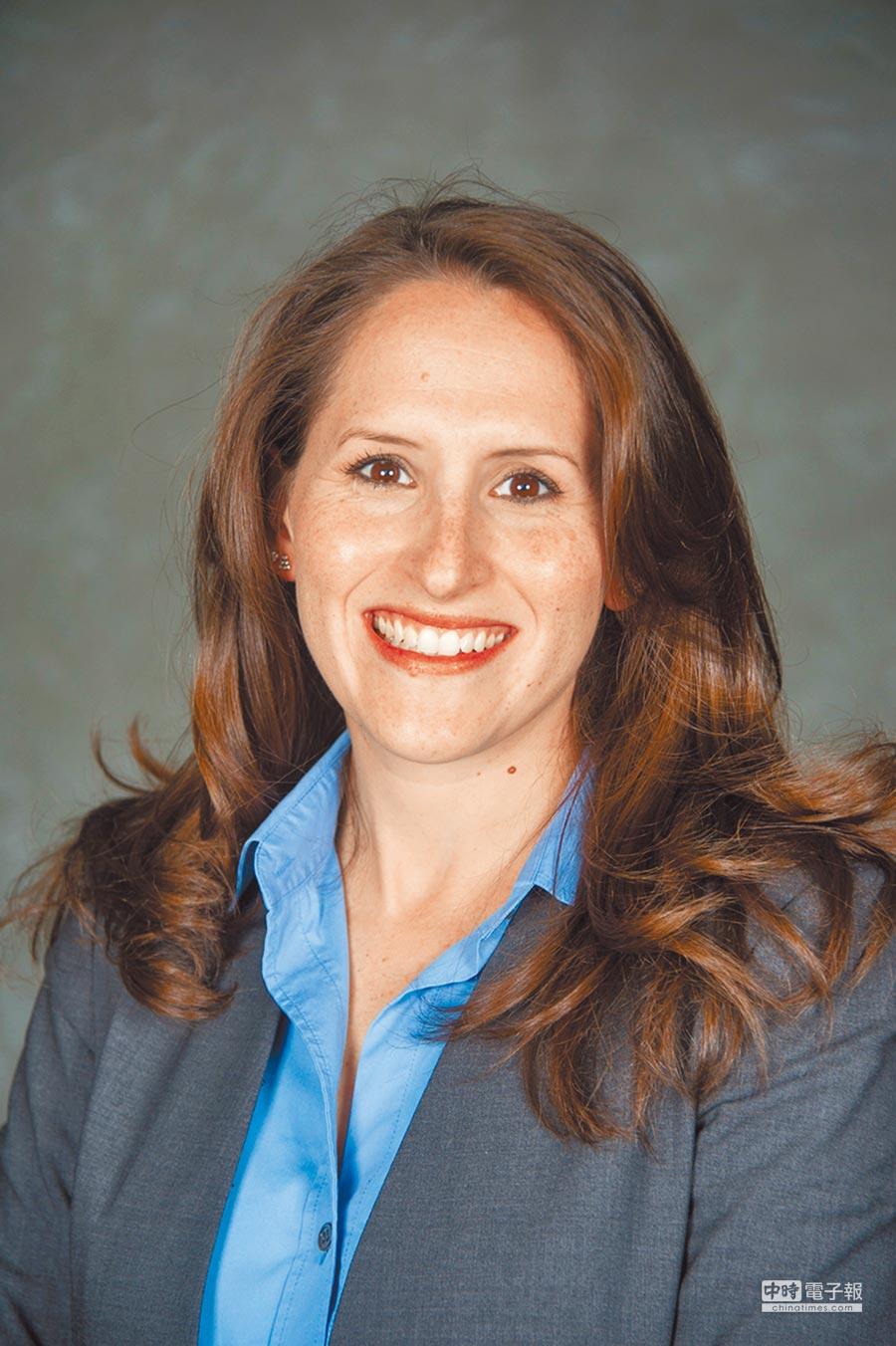 美國喬治城大學國際事務助理教授梅惠琳。(取自喬治城大學官網)