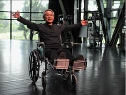 林懷民學走路 「人生70才開始」 傷後首次公開露面