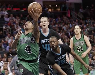 NBA》塞爾提克射蜂 保住爭奪東區老大希望