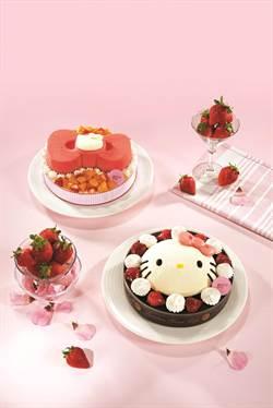 85度C超萌Kitty 母親節蛋糕4月11號開賣
