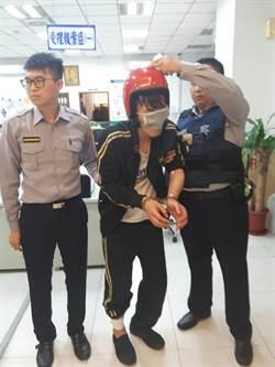毒蟲見警就跑  警民合力壓制逮捕