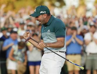 PGA》賈西亞延長賽勝羅斯 名人賽首奪大賽冠軍