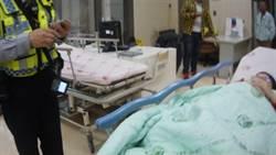 孕婦大量出血 警車開道助就醫
