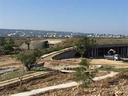 中市水湳中央公園景觀橋梁將施工 4/15起河南路交管