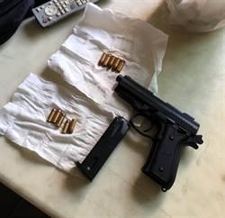 高市前鎮警查獲父子檔改造槍械出售