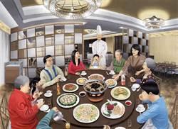 畫中有菜菜中有畫 米香老台菜登場