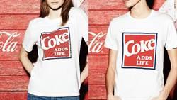 把可口可樂穿身上享受沁涼爽快感!GU十周年特企「可口可樂」聯名系列席台