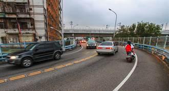 中市東區復興陸橋17日起封閉拆除 請提前改道