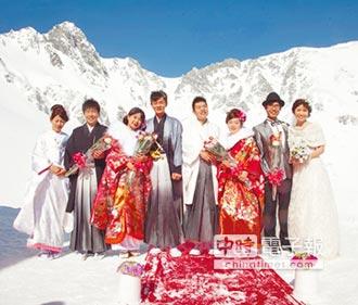 觀旅局送新人赴日辦雪地婚禮