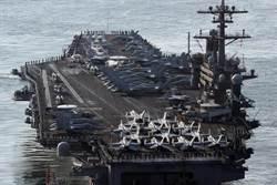 美航母「卡爾文森」號打擊群 抵朝鮮半島海域