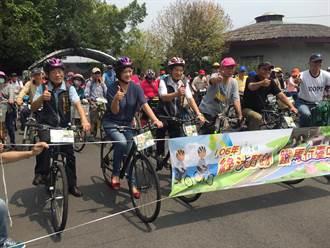 中市環保局響應地球日 揪單車騎士遊東豐綠廊