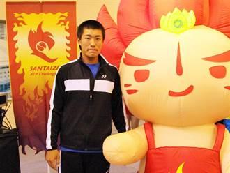 華國三太子盃》澳網青少年冠軍 許育修單挑偶像不怕