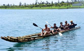 舊石器時代航向沖繩 臺日合作竹筏活水湖試划