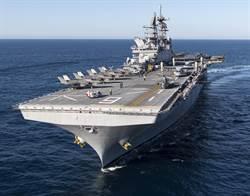 美國突擊艦將大量列裝F-35B戰機