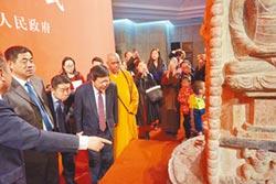 中台禪寺捐贈 唐代石塔回歸山西