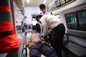 「12導程心電圖」發威  北市消防局救回心肌梗塞翁