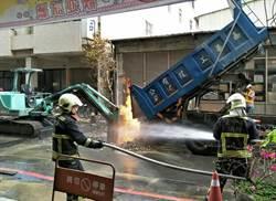 中市瓦斯管線搶修止漏 傍晚恢復供氣