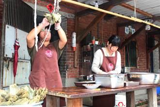 去年熱銷3千顆 蘆竹湳好采頭粽開賣