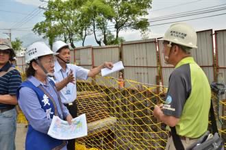 中止吉安海岸路淹水惡夢 聯合排水系統搶在年底前完工